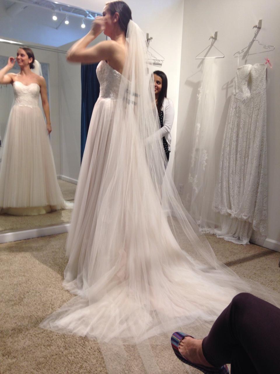 Watters Rorain 56724, $869 Size: 4 | New (Un-Altered) Wedding ...