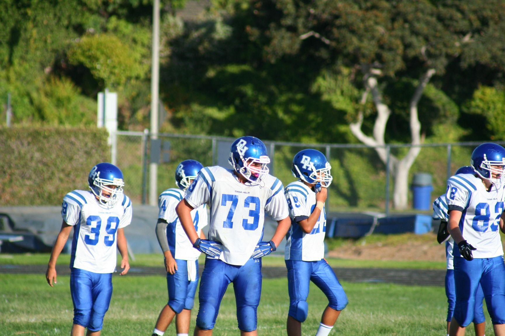 Pin by Dana Hills Football on Freshman 2014 Dana Hills vs