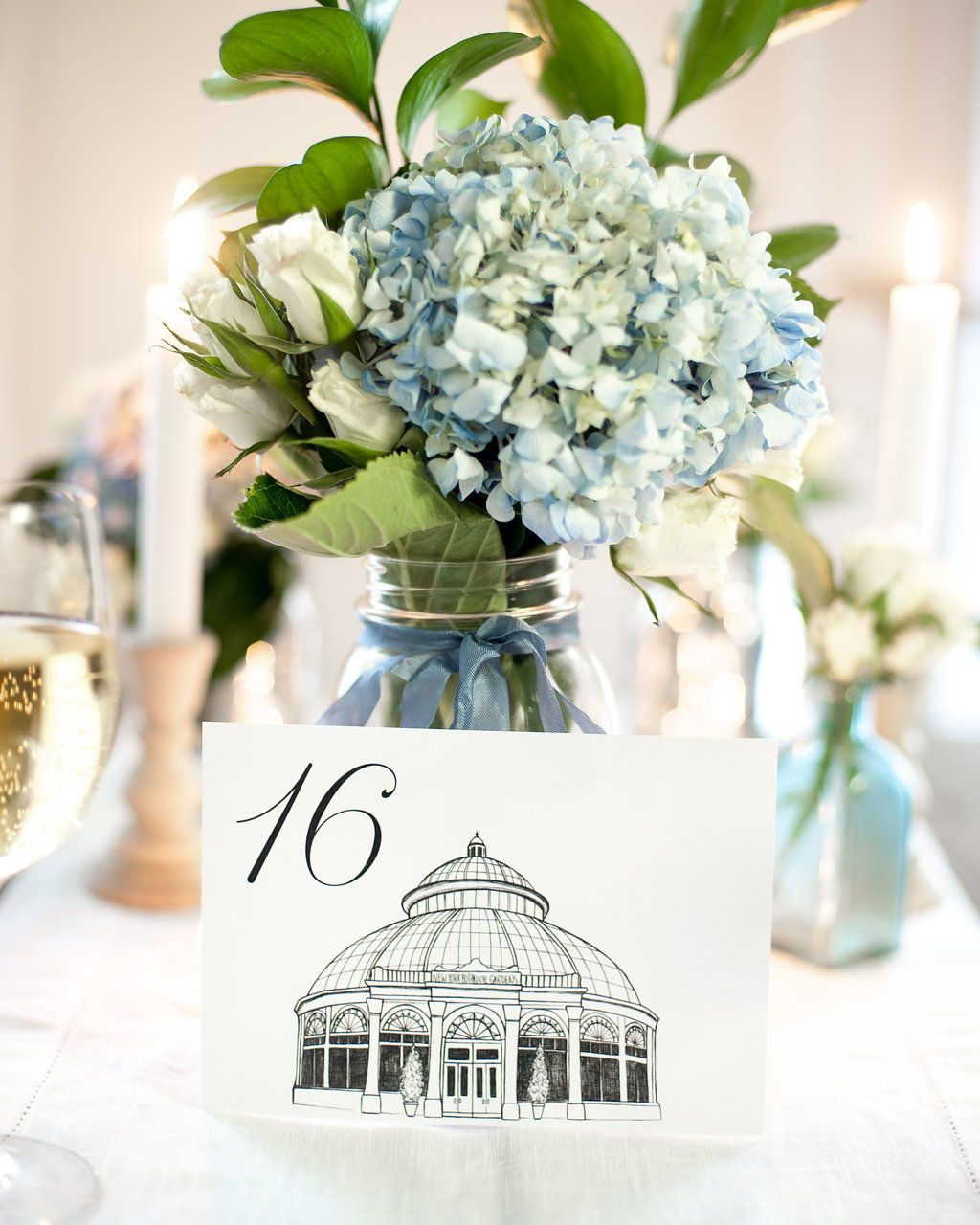 nyc icon wedding table numbers | new york city wedding theme