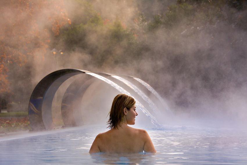 Thermal Bath In Ariston Molino Hotel Special Pool
