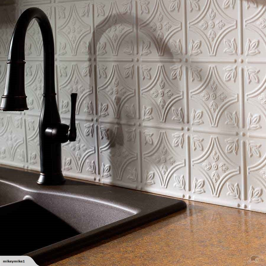 Faux Tin Tiles For Kitchen Bathroom Splashbacks Trade Me Tin
