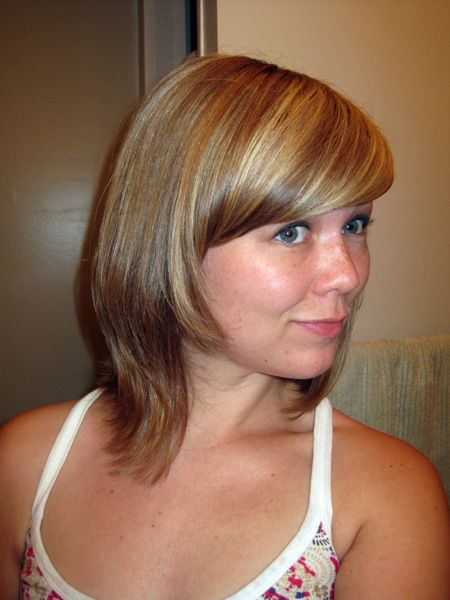 30 Dye Job Easy Hairstyles For Medium Hair Champagne Blonde