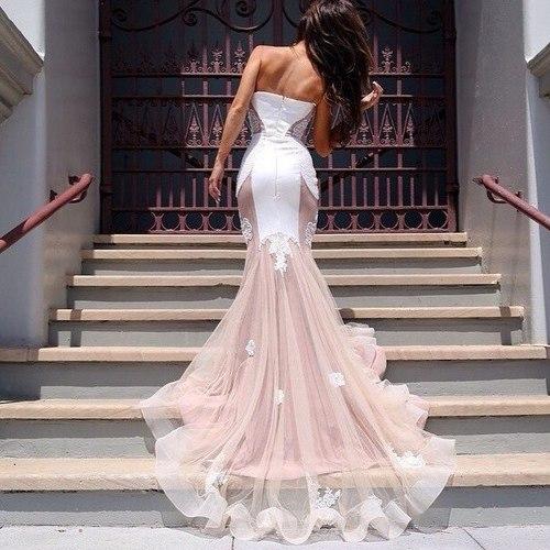 (3) Tumblr #luxury  #white,  dress