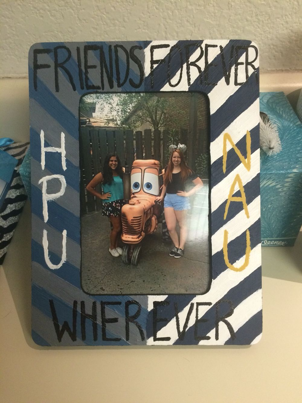 College going away present for friends going to different