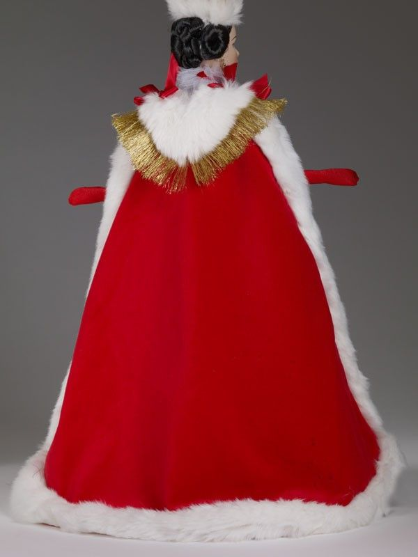 TONNER WILDE IMAGINATION MIETTE SIMPLY ROYAL RED COTTON VELEVT ROBE NEW