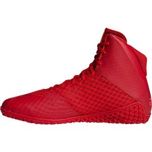 Adidas Mat Wizard 4 Wrestling Shoes Boxing Boots Trainers Red Mens
