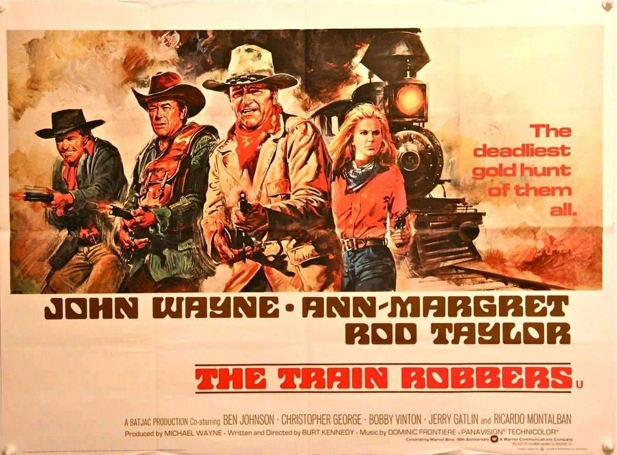 Image result for images of movie the train robbers