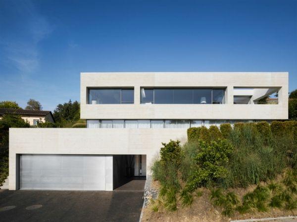 Haus Garage Schweiz Interessantes Design