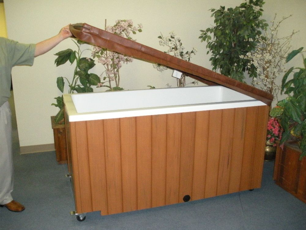 Portable Baptistry On Wheels Tanque