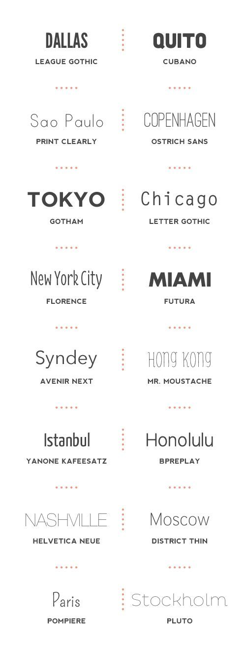 10 great web font combinationsmy fave is the number 1 combo - best font to use for resume