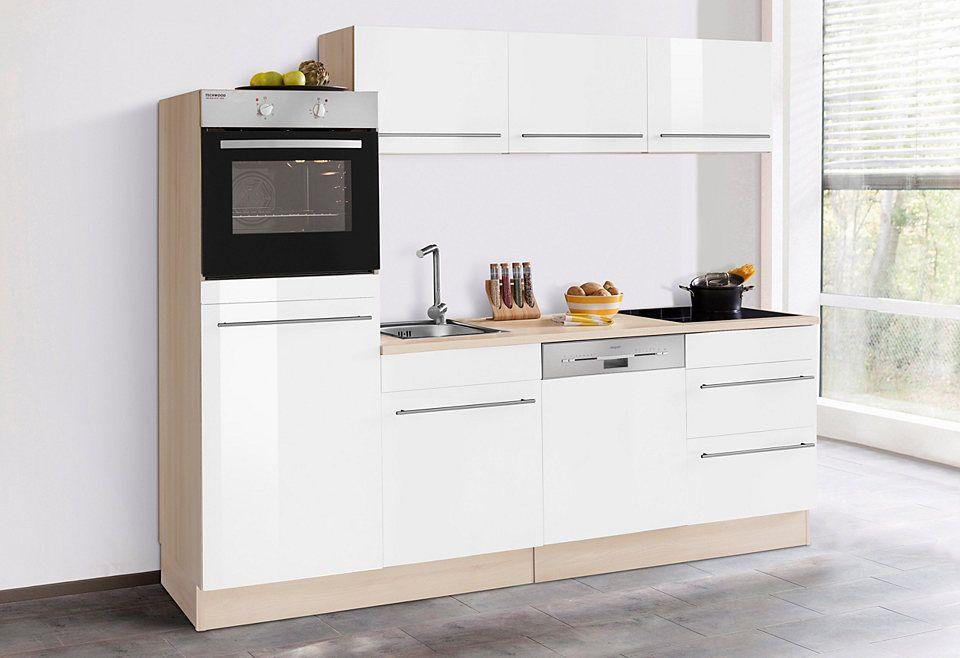 Optifit Küchenzeile ohne E-Geräte »Bern«, Breite 240 cm Jetzt - küchenzeilen ohne geräte
