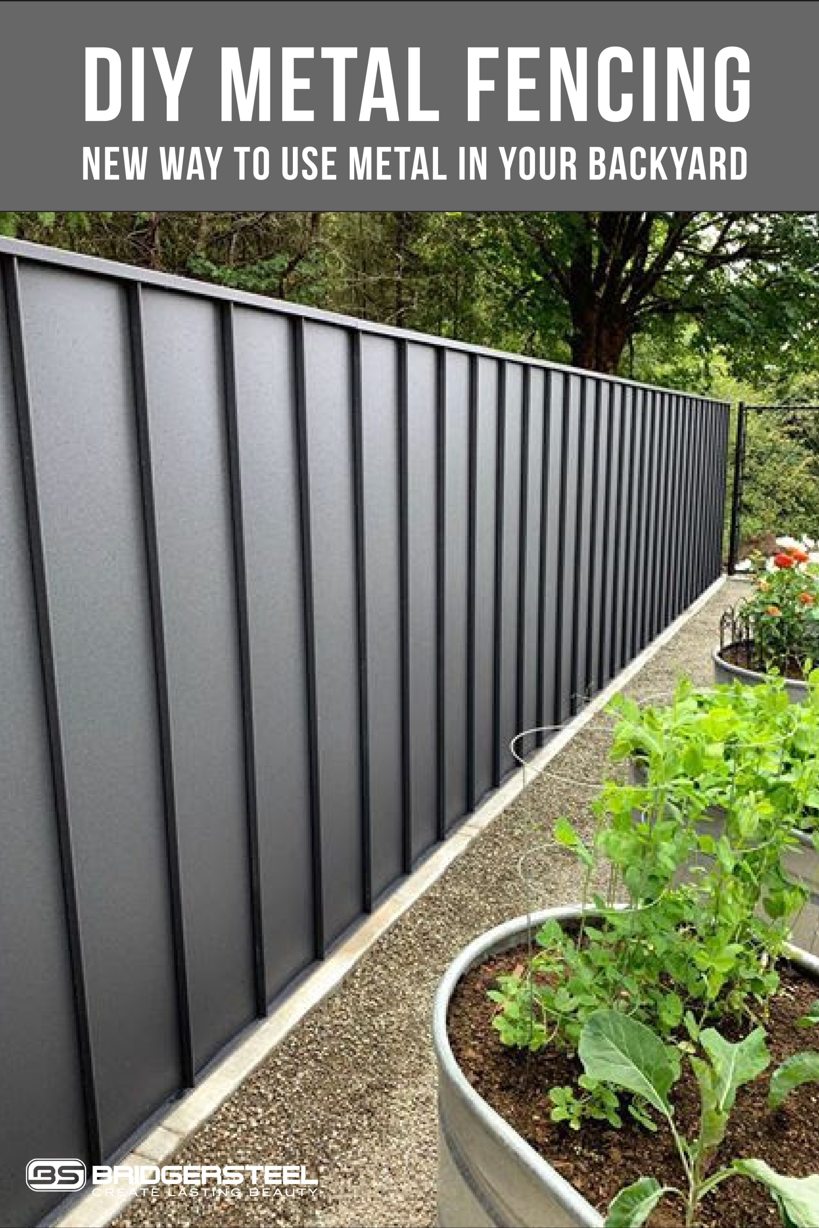 Modern Fence Sustainable Architecture Living Walls Green Roofs Architecture Metal Panel Systems Hav In 2020 Metal Garden Fencing Corrugated Metal Fence Backyard Fences