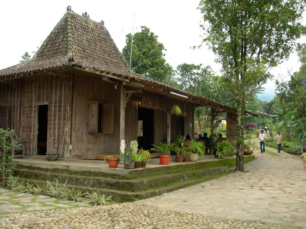 Traditional Javanese House for Villages Tours in Yogyakarta