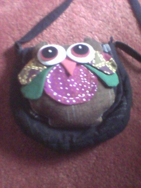 Love my owl bag twittwoo!!!!