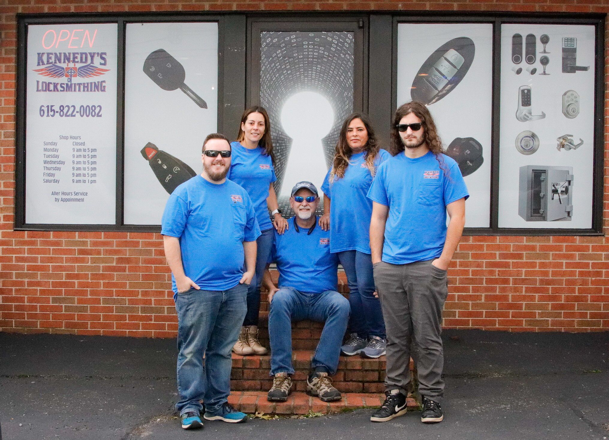 Kennedy's Locksmithing is a family owned and operated
