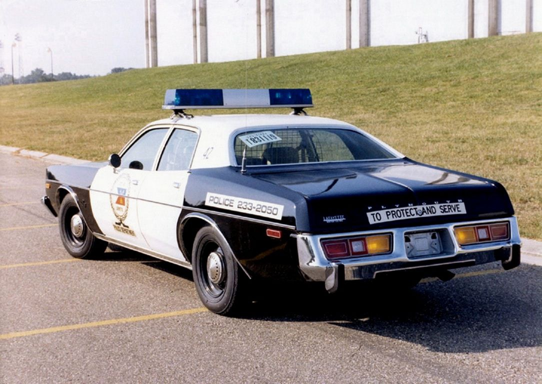 1974 Ford Torino Police Car Washington DC Vintage Police