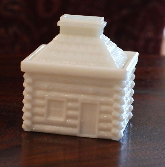 Vintage Kitchen Cottage Farmhouse Decor Paneled Grapes and Leaves Pattern Westmoreland Milk Glass Salt and Pepper Shakers RascalsRarities