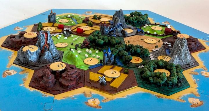 5 Aug 2019 Design of the Week Settlers of Catan