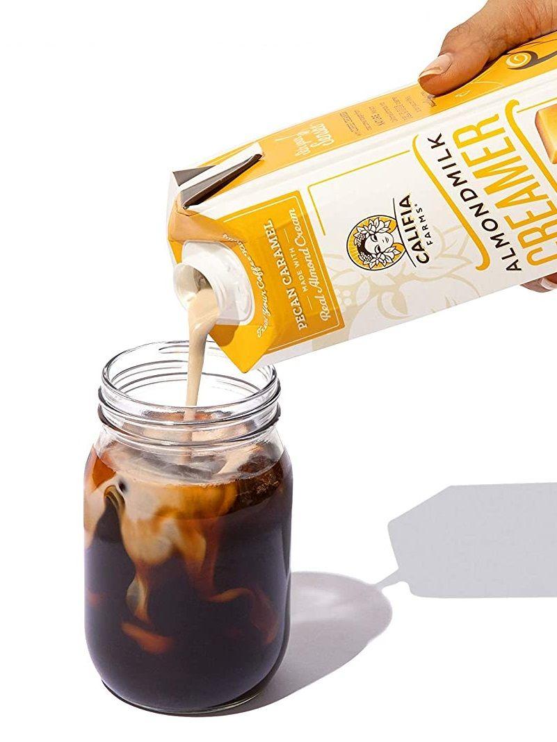 Califia farms almond milk creamer with coconut dairy free