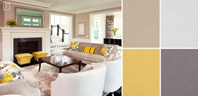 Delicieux Ideas For Living Room Colors: Paint Palettes And Color Schemes