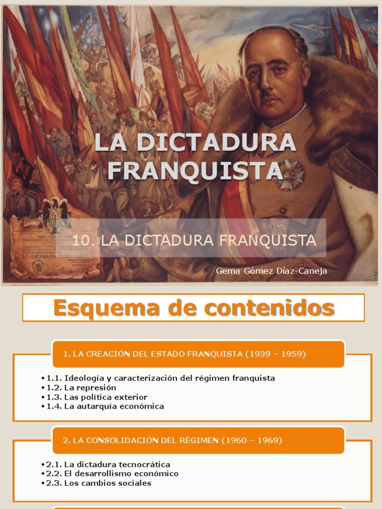 I'm reading El Franquismo on Scribd