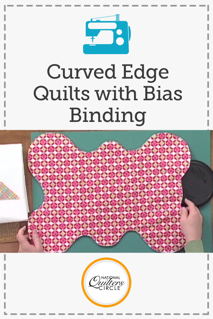 Curved Edge Quilts with Bias Binding   Curves, Tutorials and Quilt ... : bias binding quilt - Adamdwight.com