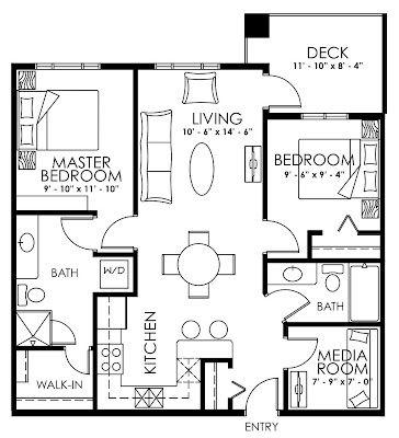 Pin By Ande Dunn On Dream Condo Floor Plans Condominium Floor Plan Mini House Plans