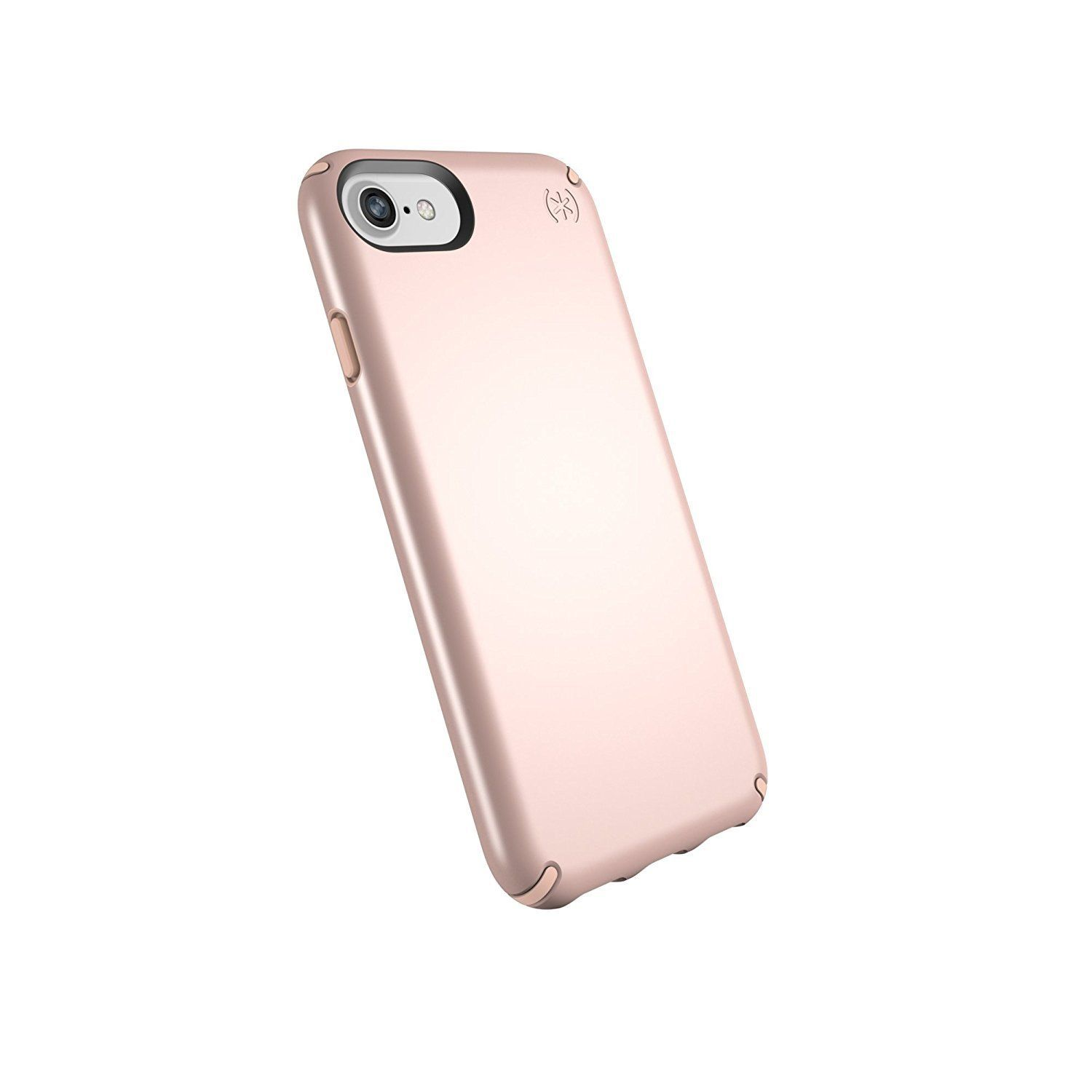 Speck Products Presidio Metallic Case for iPhone 8 Also Fits Rose Gold Metallic Dahlia Peach