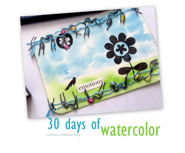 caterina: 30 days of watercolor / four