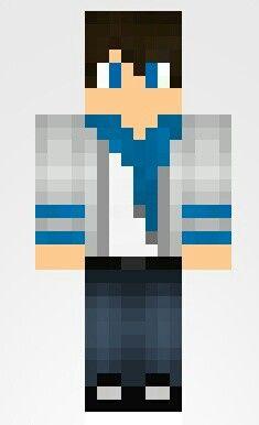 Minecraft Skin Boy Minecraft Skins Pinterest Minecraft Skins - Skins para minecraft pe de kaneki