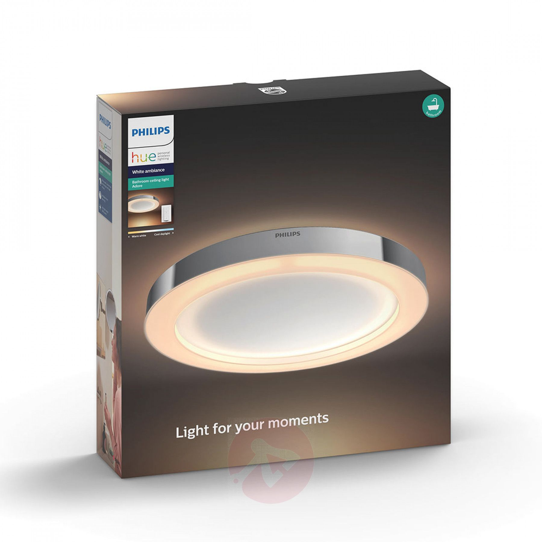 Philips Hue White Ambiance Adore Bad Deckenlampe Badbeleuchtung Deckenlampe Led Deckenleuchte