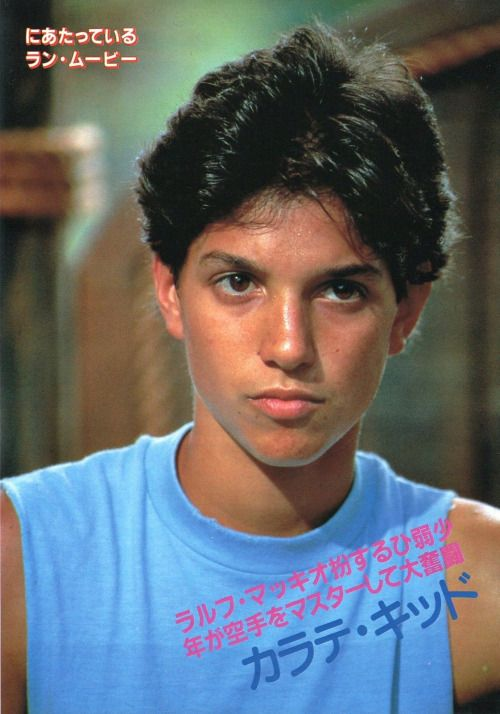ralph macchio wax on
