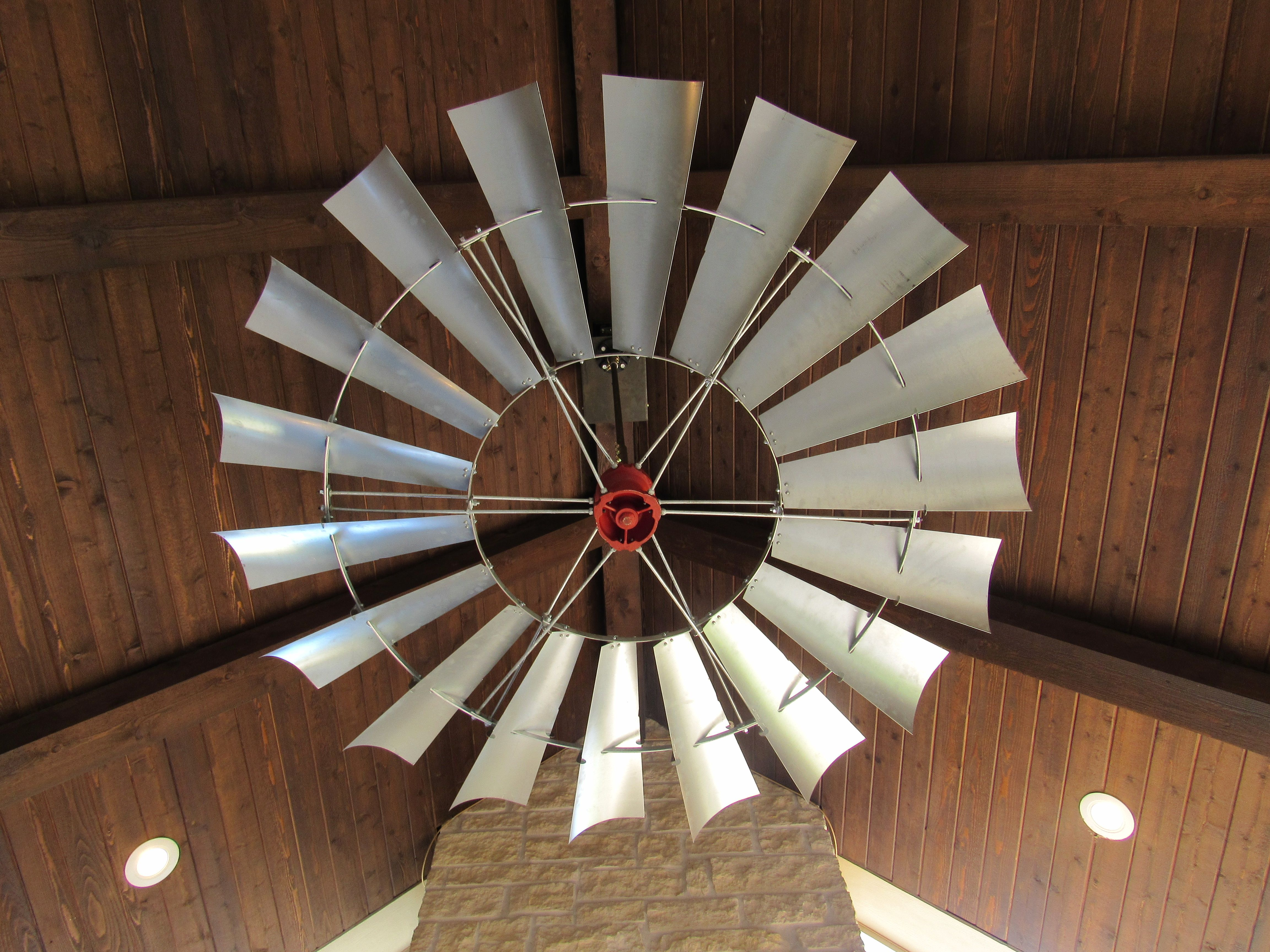 6 New Aermotor Windmill Ceiling Fan Outdoor Patio Windmill