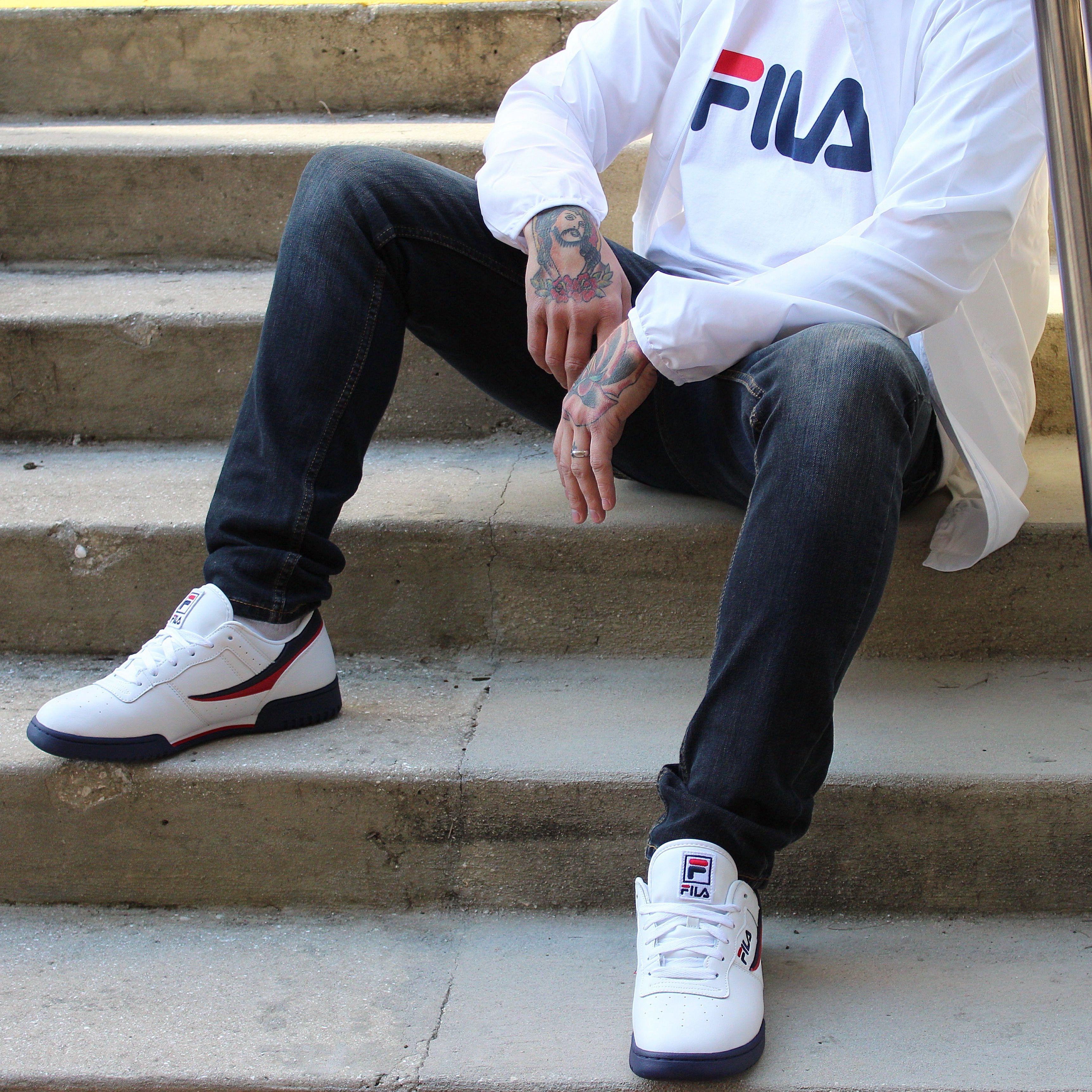 mens fila original fitness athletic shoe