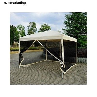 Waterproof 10x10 EZ Pop Up Canopy 10x10 Outdoor Party Camping Tent Instant Shade | eBay