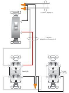 wiring a switched outlet wiring diagram http://www electrical-online