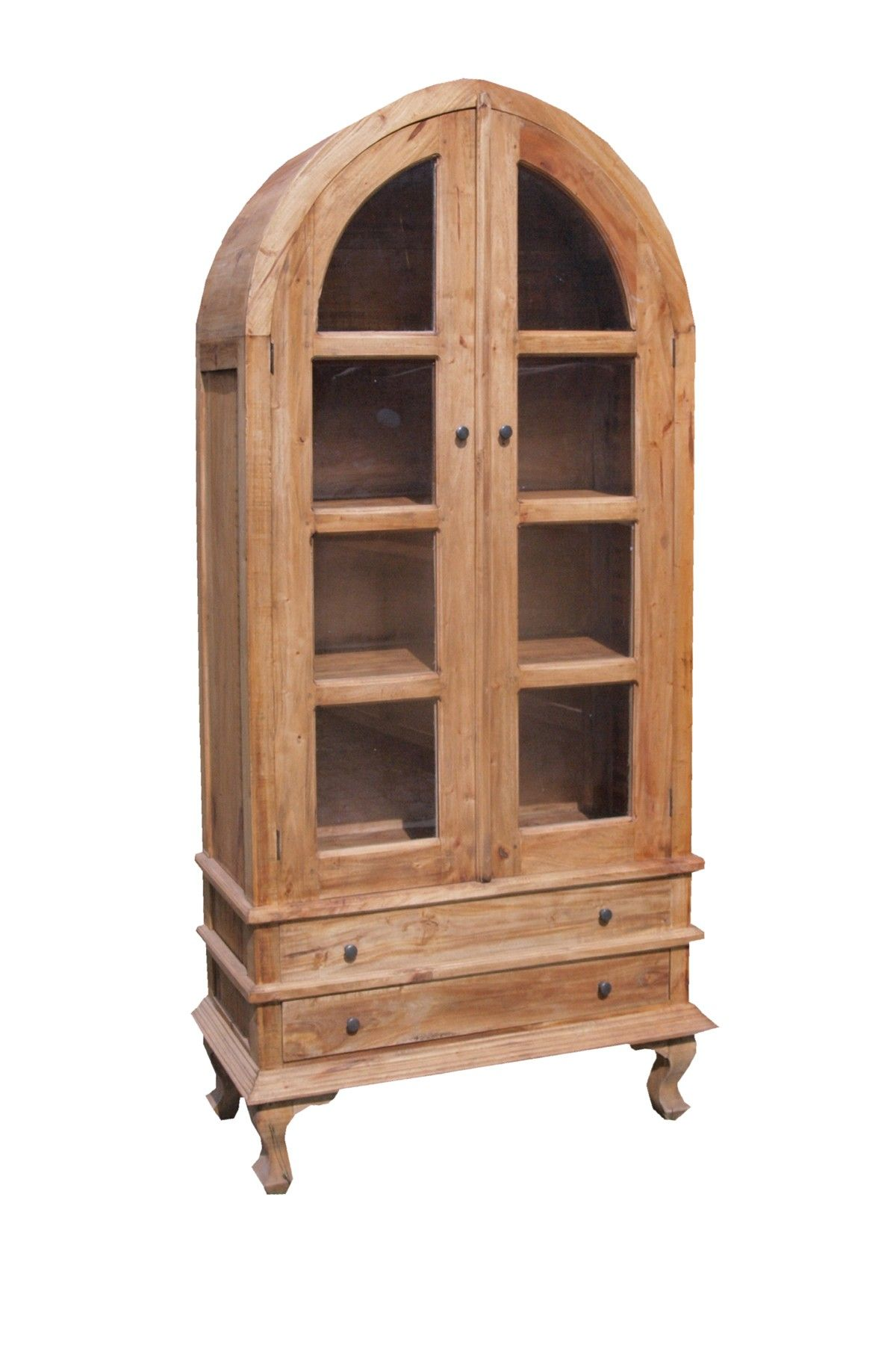 Boho Industrial Rounded Top Cabinet | For the Home | Pinterest ...