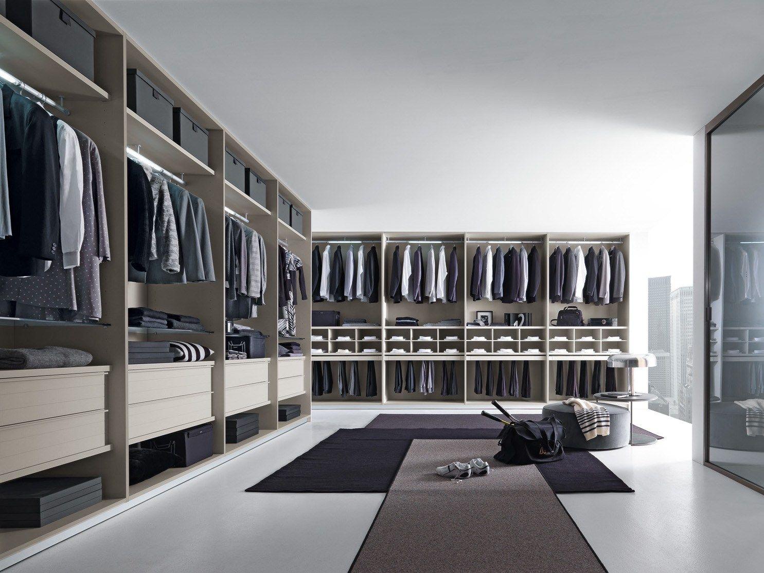 Contemporary style walk-in wardrobe VARIUS by Presotto Industrie ...