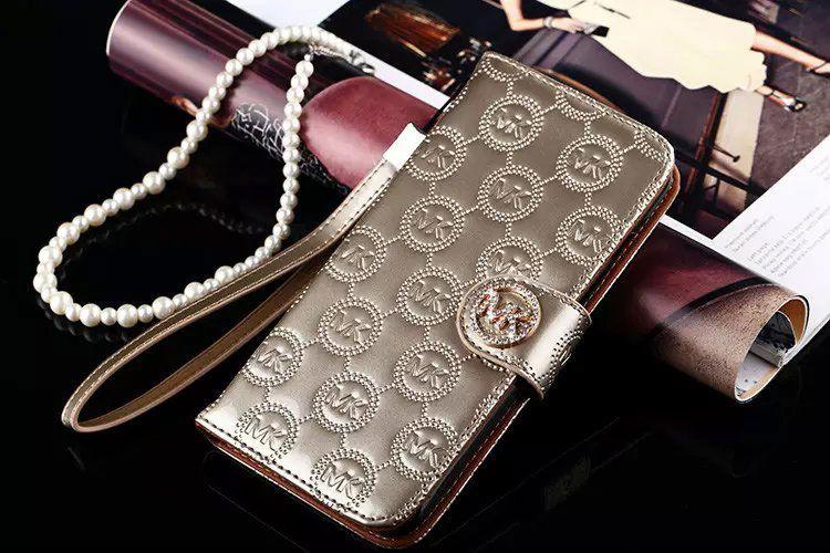 Michael kors flip wallet case cover galaxy s7 gold gold
