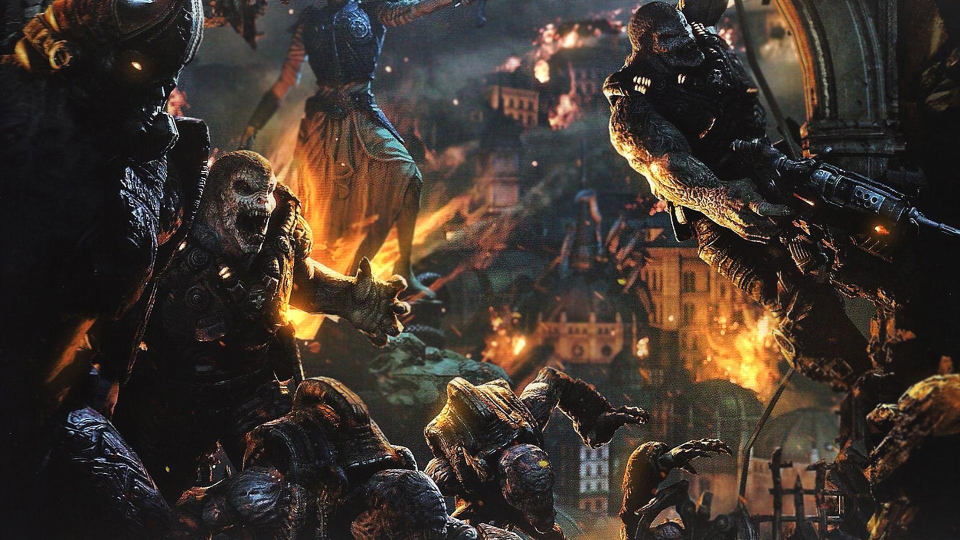 Gears Of War 3 Locust Wallpapers Gears Of War Gears Of War Judgment Gears Of War 3