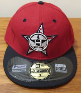 size 40 963c6 7fca1 New Era 59Fifty Houston Astros Stars Stripes Baseball Hat Cap Size 7 Fitted  MLB