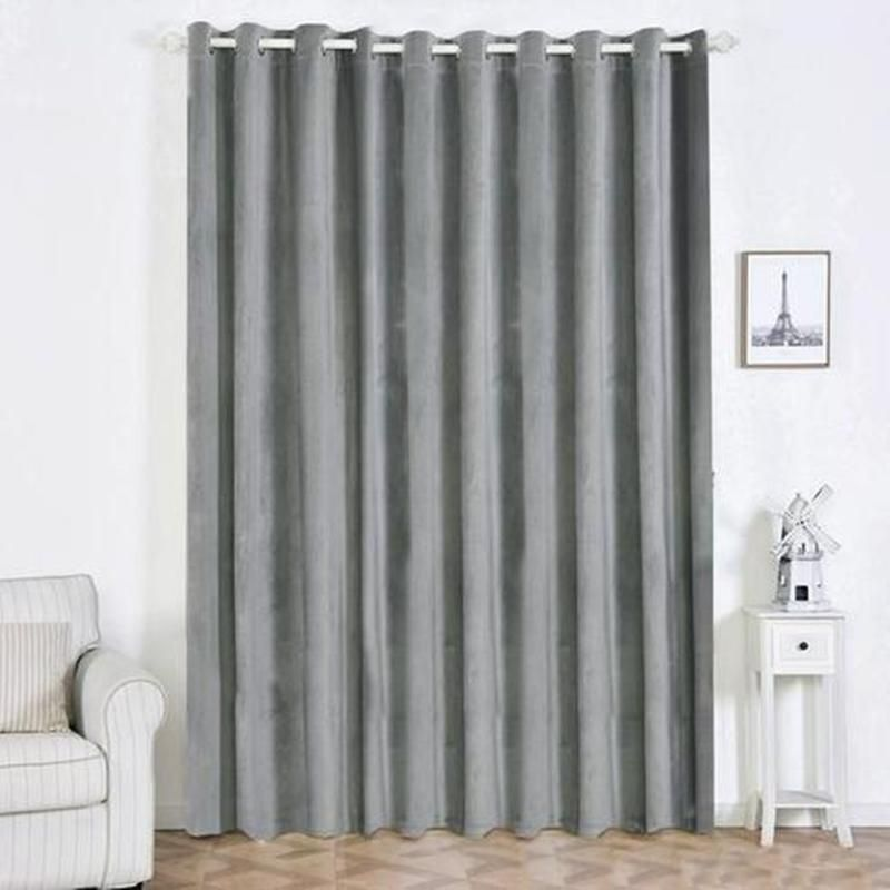 Charcoal Grey Blackout Curtains 2 Packs 52 X 108 Inch Grommet