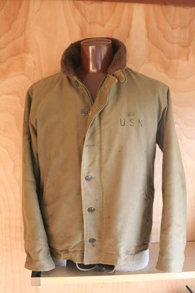 1940 S Us Navy N 1 Foul Weather Jacket Outerwear In 2019