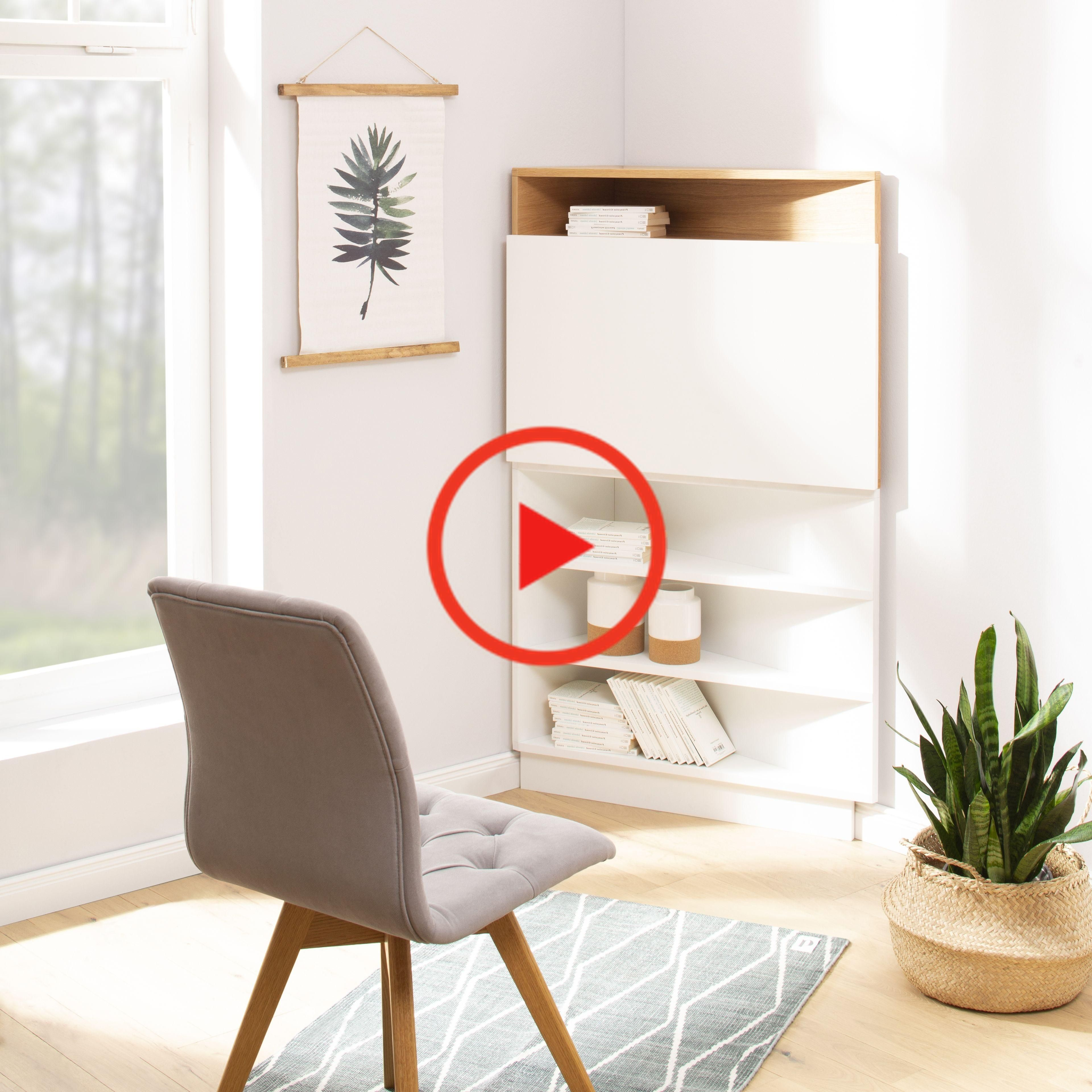 Ecce Is A Variable Home Office It Can Be Hung At Any Height On The Wall And Thus Both As A Normal Home Decor Home And Living Home
