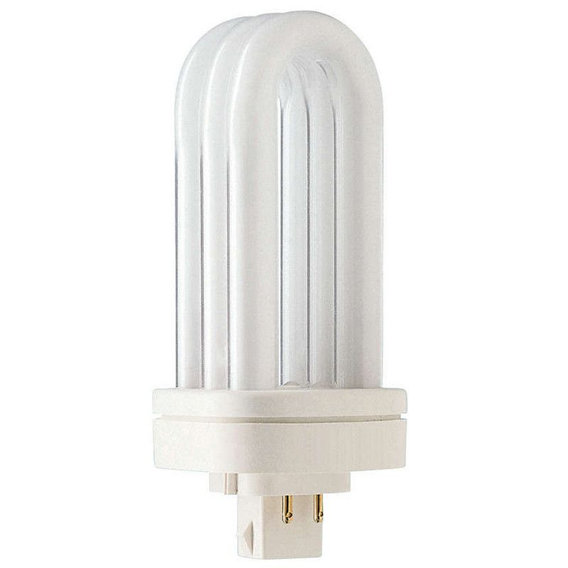 Philips 26w Triple Tube 4 Pin Gx24q 3 Warm White 3000k Fluorescent Light Bulb Compact Fluorescent Bulbs Light Bulb Bulb