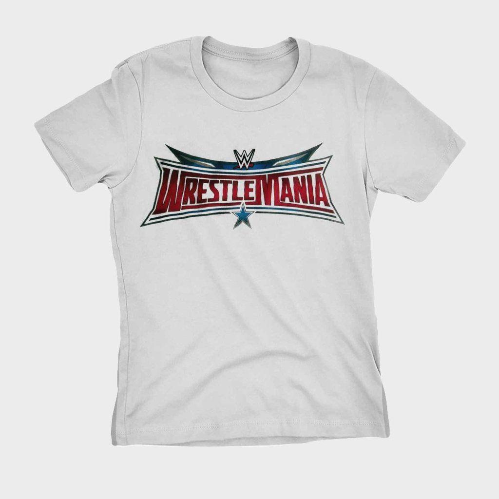 e63cee3be Camiseta Wrestling Wrestlemania WWE Blusa Camisa Feminina por R 39 ...