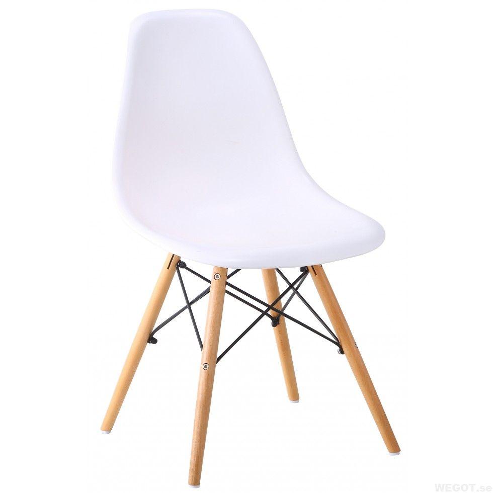 vit stol ekben