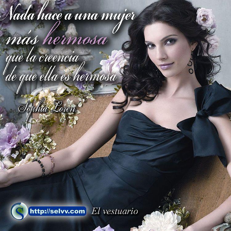 nada hace a una mujer m s hermosa que la creencia de que