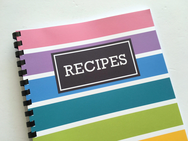 how to make a diy recipe book plus free printables paper work