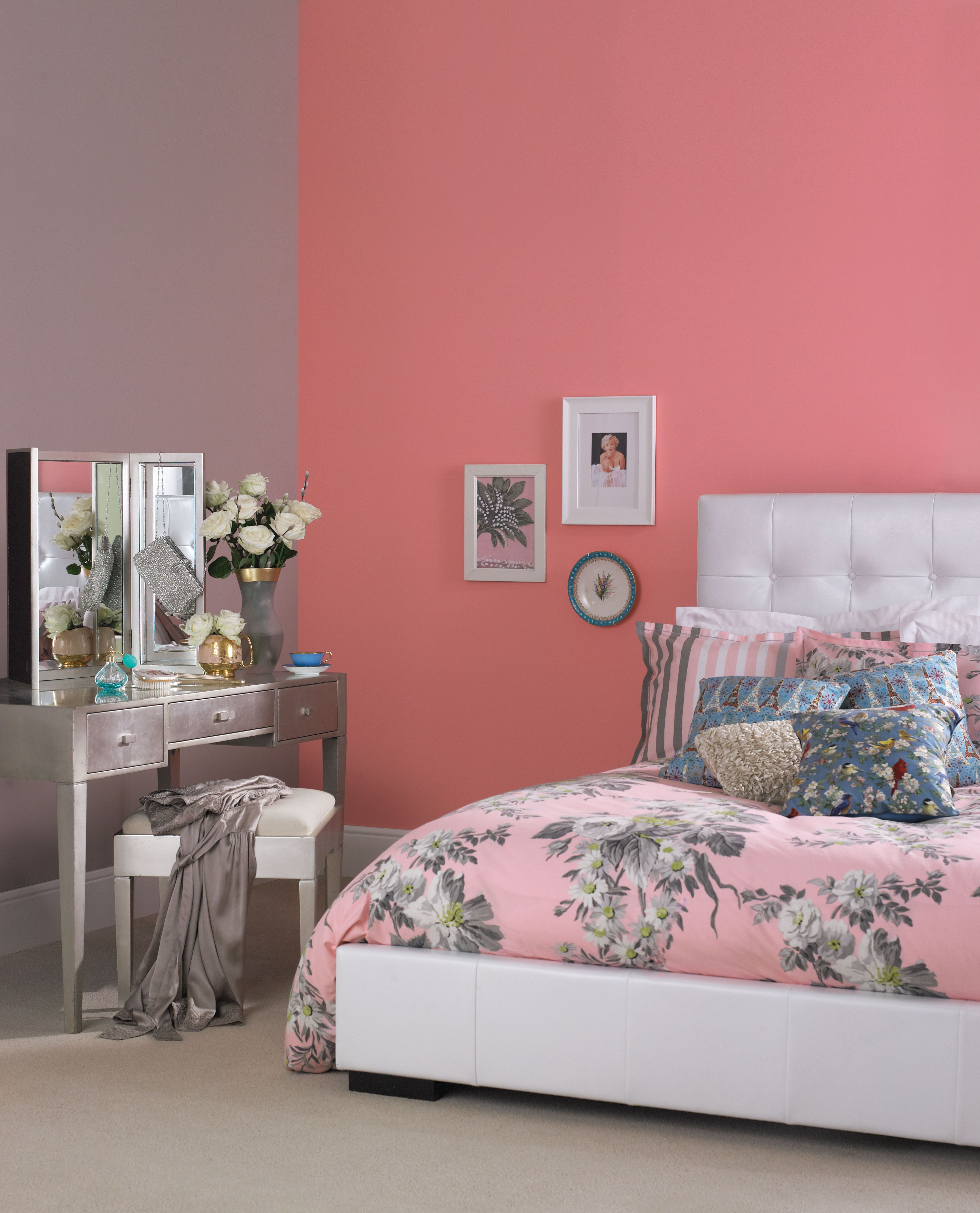 #Pink Tones Will Add Warmth To Any Chic #bedroom